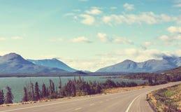 加拿大湖 免版税图库摄影