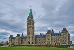加拿大的议会 图库摄影