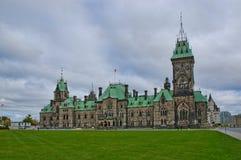 加拿大的议会 免版税库存照片