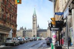 加拿大的议会 库存图片