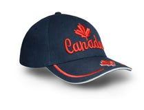 加拿大盖帽 免版税库存图片