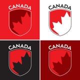 加拿大盾 库存照片