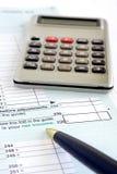 加拿大税务 免版税库存照片