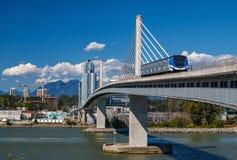 加拿大线桥梁 图库摄影
