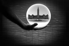 加拿大联邦竞选预言 库存照片