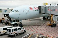 加拿大航空 图库摄影