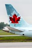 加拿大航空 库存图片