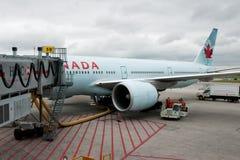 加拿大航空 免版税库存照片