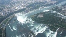 加拿大落尼亚加拉视图 免版税图库摄影