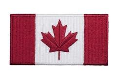 加拿大补丁 免版税库存图片