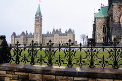加拿大议会 库存照片