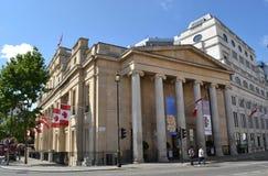 加拿大议院特拉法加广场 免版税库存照片
