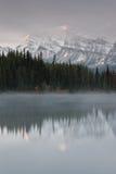 加拿大赫伯特湖 免版税库存照片