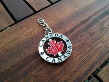加拿大钥匙链 图库摄影