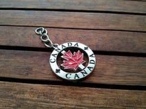 加拿大钥匙链 免版税库存照片