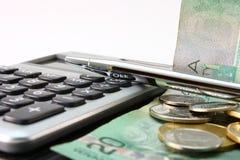 加拿大预算值 免版税库存照片
