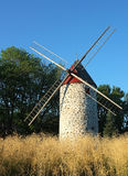 加拿大风车 库存照片