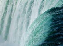 加拿大马掌在尼亚加拉落 免版税库存照片