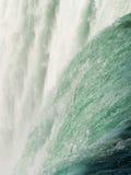 加拿大马掌在尼亚加拉落 库存图片