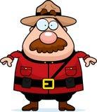 加拿大骑警队员 图库摄影