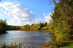 加拿大魁北克河 库存图片