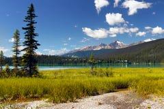 加拿大,不列颠哥伦比亚省山风景 免版税库存图片