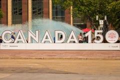 加拿大150 免版税库存照片