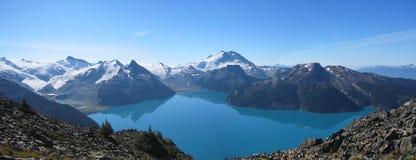 加拿大garibaldi湖 免版税库存图片