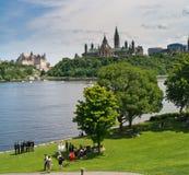 加拿大gatineau安大略当事人婚礼 库存照片