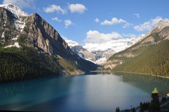 加拿大Lake Louise 图库摄影