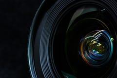 更加接近的变焦镜头 库存图片