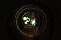 更加接近的变焦镜头 图库摄影