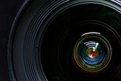 更加接近的变焦镜头 免版税库存图片