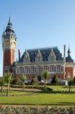 加来法国大厅城镇 图库摄影