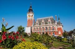 加来,法国- 2011年10月01日:加来市政厅10月01日的 库存照片