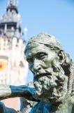 加来,法国- 10月01 :市政厅加来, 2 10月11日, 免版税库存照片