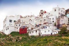 更加气味强烈的摩洛哥 老生存房子在麦地那 库存图片