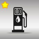 加油泵例证 图库摄影