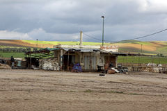 加油站在伊夫兰 免版税库存照片