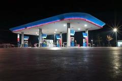 加油站在曼谷泰国 免版税库存照片