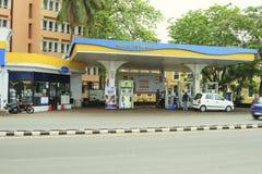 加油站Bharat石油 库存图片