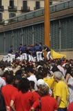 加泰罗尼亚的人的塔, Castells 免版税库存图片