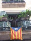 加泰罗尼亚的公寓 免版税库存照片