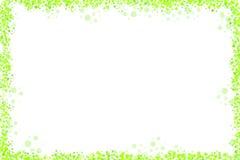 加点fram绿色白色 库存图片