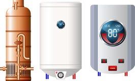 水加热器 库存图片