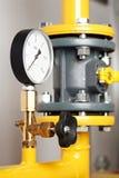 加热空间系统的锅炉设备 库存图片
