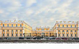 加甫里尔・杰尔查文庄园博物馆,圣彼得堡,俄罗斯 免版税库存图片