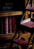 加的夫城堡图书馆的细节  库存图片