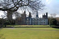 加的夫城堡,加的夫, Glamorgan,威尔士,英国 库存照片