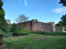 加的夫城堡 库存照片